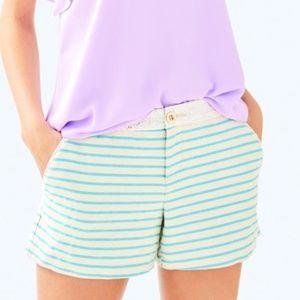 NWT LILLY PULITZER Striped Callahan Party Shorts